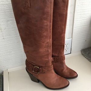 Size 6 Lucky Brand Tall Boots